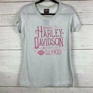 Harley Davidson Rhinestone Windy City M T Shirt